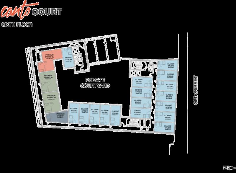 Sixth floor